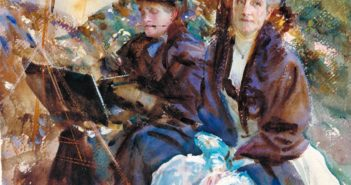 Miss Eliza Wedgwood and Miss Sargent Sketching 1908 John Singer Sargent 1856-1925 Bequeathed by William Newall 1922 http://www.tate.org.uk/art/work/N03658