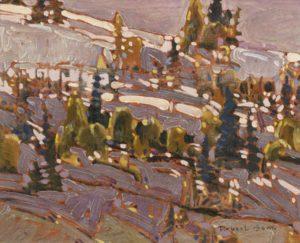 robert-genn_hillside_1972_oil-on-board-8x10