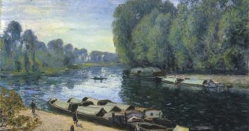 Alfred-Sisley_Boats-on-the-Long-River