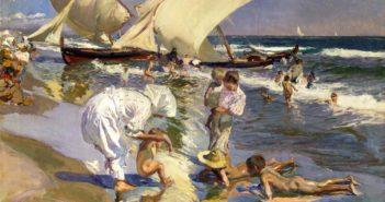 Joaquin_Sorolla,_1908_-_Beach_of_Valencia_by_Morning_Light