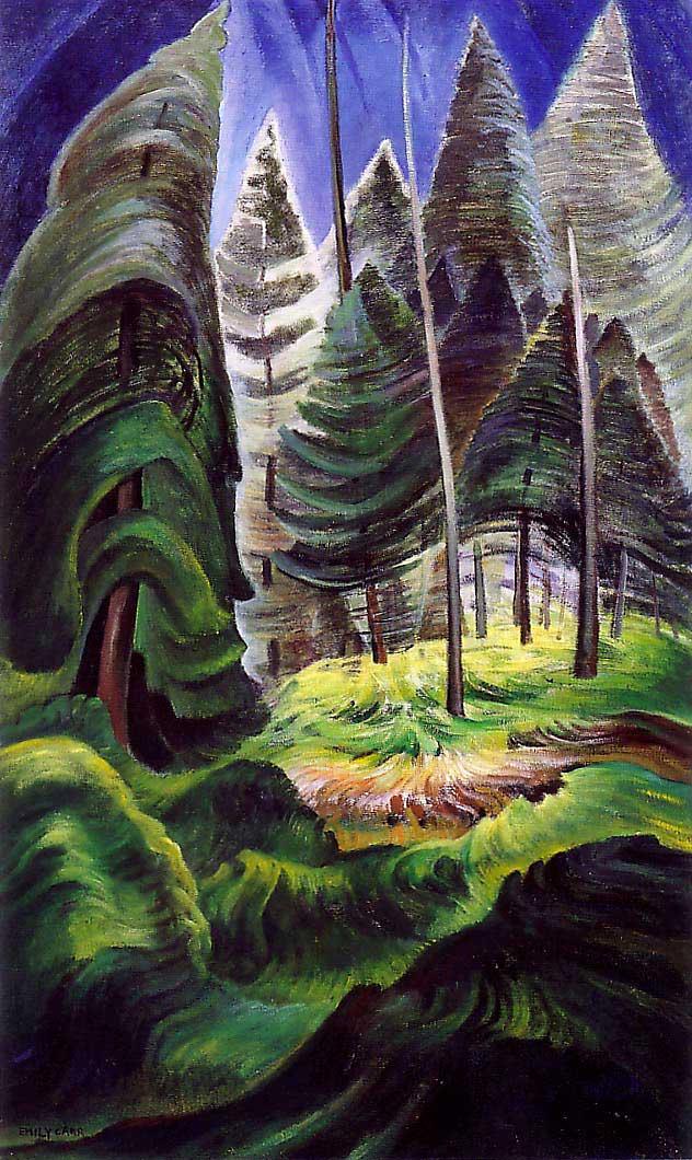 emily-carr-artwork-forestundergrowth