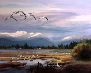 https://painterskeys.com/wp-content/uploads/2015/01/Snowgeese-Pacific-Flyway-24x30-wpcf_300x240.jpg