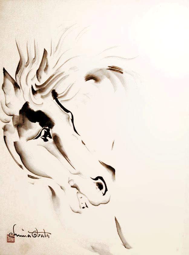 chiura-Obata_Horse1