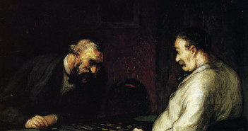 Honore-Daumier_the-players