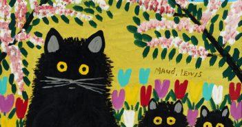 maud-lewis_three-black-cats