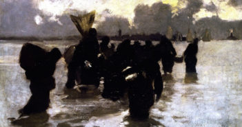 sargent_mussel-gatherers-ca.1877