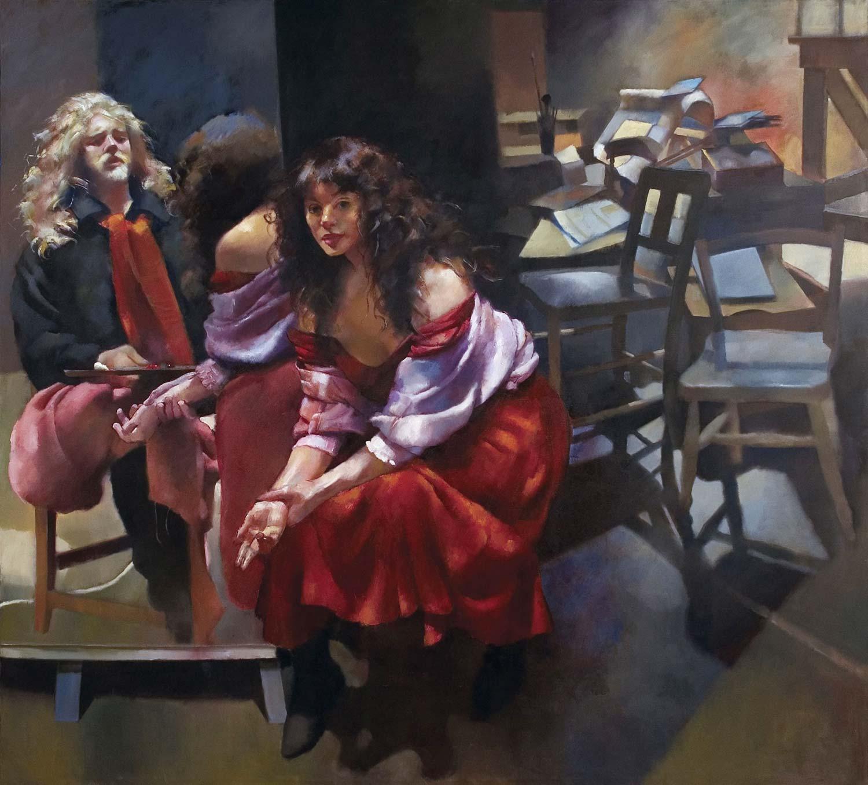 robert-lenkiewicz_the-painter-with-karen
