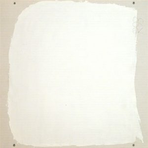 Part 15, 1993 oil on canvas by Robert Ryman