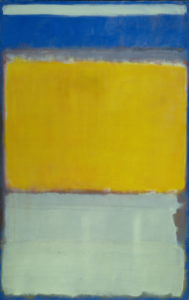Number 10, 1950 oil on canvas by Mark Rothko