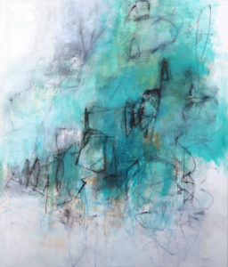 Julie-Schumer_Holding-My Own_53x45.5_mixed-media-on-canvas