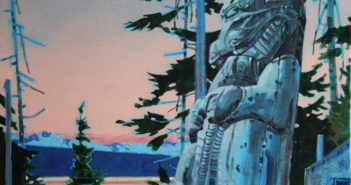 Twilight of the Gods Acrylic on canvas 20 x 24 inches by Robert Genn (1936-2014)