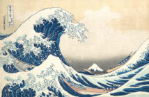 The Great Wave, from the series Thirty-six Views of Mount Fuji (ca. 1830–32, Edo Period) Polychrome woodblock print; ink and color on paper 10 1/8 x 14 15/16 inches by Katsushika Hokusai (1760–1849)