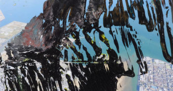 24.7.2015, 2015 Oil on color photograph 4 3/8 x 6 5/8 inches by Gerhard Richter (b. 1932