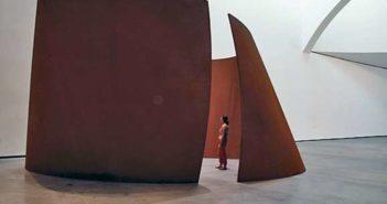 Torqued Ellipse (2003-04)  steel sculpture by Richard Serra (b.1938)  Robert Polidori photo