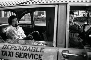 Martin Scorsese and Robert De Niro on the set of Taxi Driver, 1976 Steve Schapiro photo