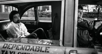 Martin Scorsese and Robert De Niro on the set of Taxi Driver, 1976 Steve Schapiro photo