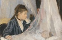 The Cradle, 1872 oil on canvas 56 x 46 cm by Berthe Morisot (1841-1895)