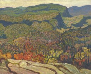 Forest Wilderness, 1921 oil on canvas by J.E.H MacDonald (1873-1932)
