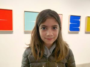 Many thanks to those of you who came to Thursday's opening at Gallery Jones -- including my niece, Poppy.