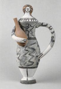 Femme à l'amphore, 1947 painted earthenware by Pablo Picasso (1881-1973)