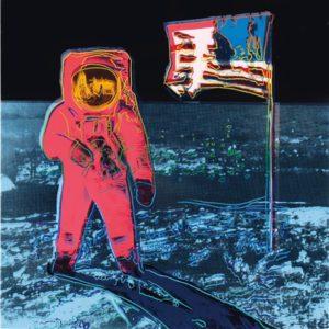 Moonwalk, 1987 Screenprint 38 x 38 inches by Andy Warhol