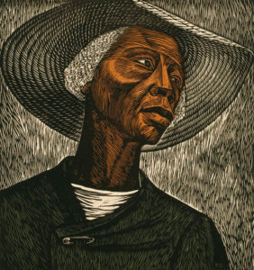 Sharecropper, 1952 (printed 1970) by Elizabeth Catlett