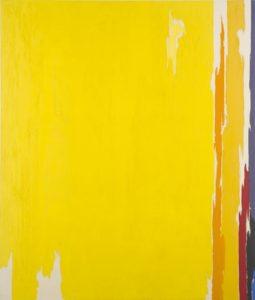 1951 PH-374 oil on canvas 57 7/9 x 54 7/8 in by Clyfford Still