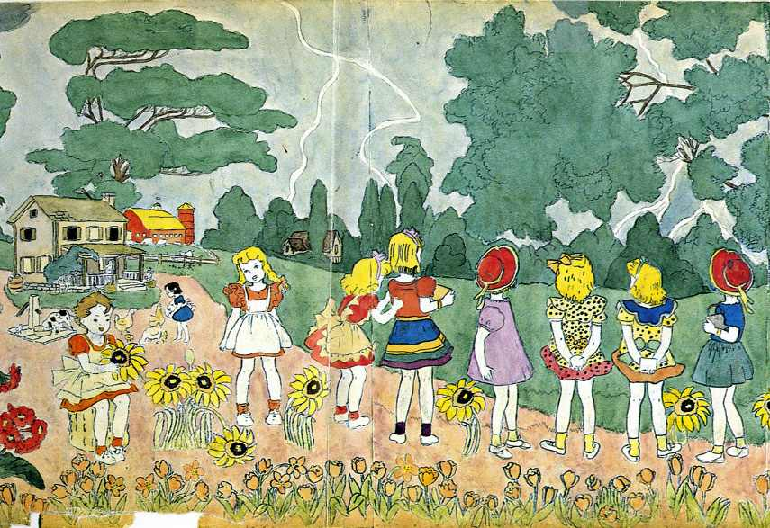 Henry-Darger-untitled-watercolour