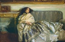 Nonchaloir (Repose), 1911 oil on canvas 63.8 x 76.2 cm by John Singer Sargent