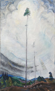 Scorned as Timber, Beloved of the Sky, 1935 oil on canvas by Emily Carr (1871-1945)