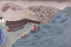 Canadian Cove, 1940 Oil on canvas 32 x 48 inches by Milton Avery (1885-1965)