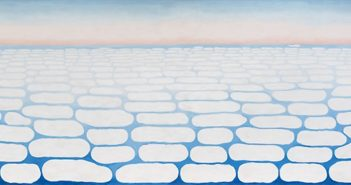 Sky Above Clouds IV, 1965 oil on canvas 96 × 288 inches by Georgia O'Keeffe (1887-1986)