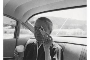 Georgia O'Keeffe, Taos Pueblo, New Mexico, 1960 Tony Vaccaro photo