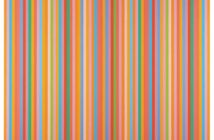 Aria, 2012 oil on canvas by Bridget Riley (b. 1931)