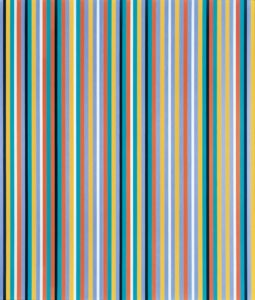 Cool Edge, 1982 Oil on canvas by Bridget Riley