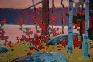 Lake of the Woods Classic (detail) by Robert Genn