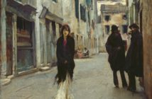 Street in Venice, c. 1882 Oil on canvas 45.1 cm × 53.9 cm by John Singer Sargent  (1856 - 1925)