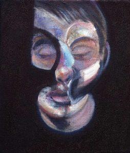 Portrait of Lucian Freud, (n.d.) Oil on canvas 35.6 x 30.5 cm by Lucien Freud