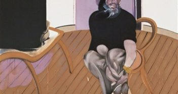 Self Portrait, 1977 Lithograph on Arches paper 102 x 72.5 cm by Francis Bacon (1909-1992)