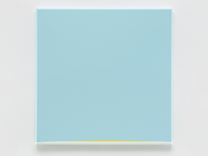 Prospect, 1991 Acrylic on canvas 122 x 122 cm by Anne Truitt