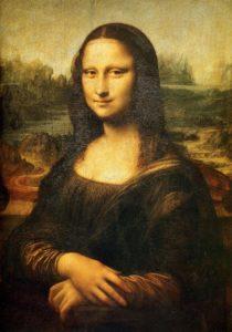 Mona Lisa, 1503-6 Oin ov canvas by Leonardo da Vinci (1452-1518)