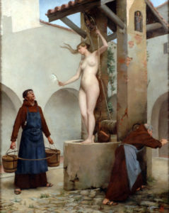 Spirit of the Well, n.d. by Charles West Cope