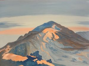 Cow Mountain View  30 x 40 inches