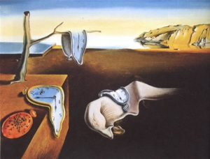 The Persistence of Memory, 1931 Oil on canvas 9 1/2 x 13 inches by Salvador Dalí
