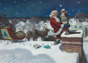 Santa, 1920 by N.C. Wyeth (1882-1945)