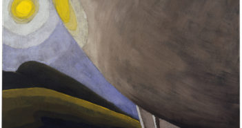 Silver Ball No. 2, 1930 Oil and metallic paint on canvas 23 1/4 × 30 inches by Arthur Dove (1880-1943)