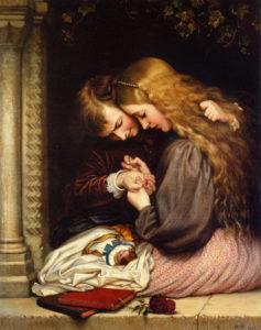 The Thorn, 1866 by Charles West Cope