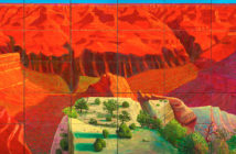 A Bigger Grand Canyon, 1998  Oil on 60 canvases 207.0 x 744.2 cm by David Hockney (b.1937)