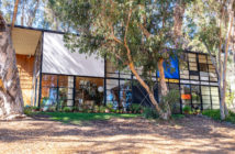 The Eames House (aka Case Study House No. 8), 1949 203 North Chautauqua Boulevard in the Pacific Palisades, Los Angeles.   by Charles Eames (1907-178) and Ray Eames (1912-1988)