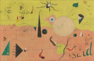 The Hunter (Catalan Landscape), 1923-24 Oil on canvas 25 1/2 x 39 1/2 inches by Joan Miró (1893–1983)